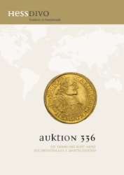Cover Auktion 336a - Hess Divo AG Zürich