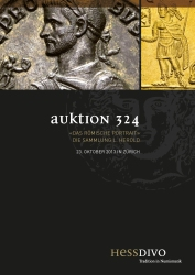Cover Auktion 324 - Hess Divo AG Zürich